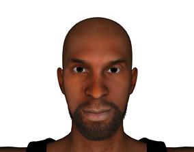 3D model Kobe Bryant