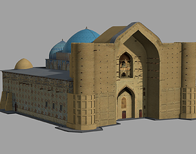 3D model Akhmet Yassawi Mausoleum