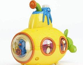 3D Yellow Aquatic Toddler Toy