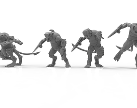 3D print model Cheese Stealer Cult - Claw Pack