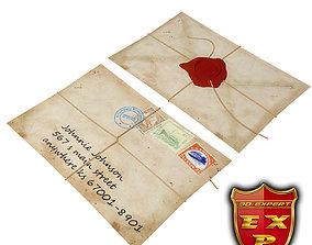 Envelope 3D model