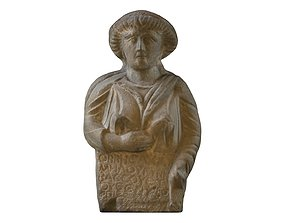 SYRIAN - FUNERARY STELE OF A WOMAN 3D model