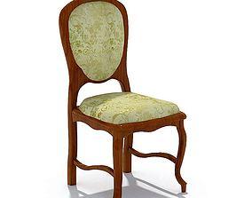 3D model Vintage Victorian Chair