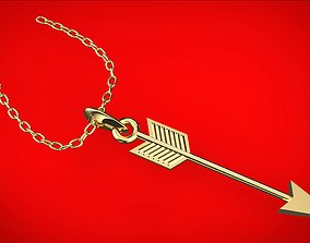 arrow 3D printable model jewelry
