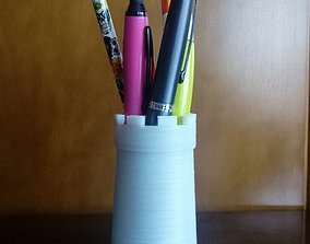 3D printable model pen tower