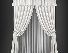 Curtain 3D model 228 game-ready