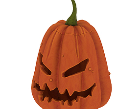 pumpkin carve 3D model