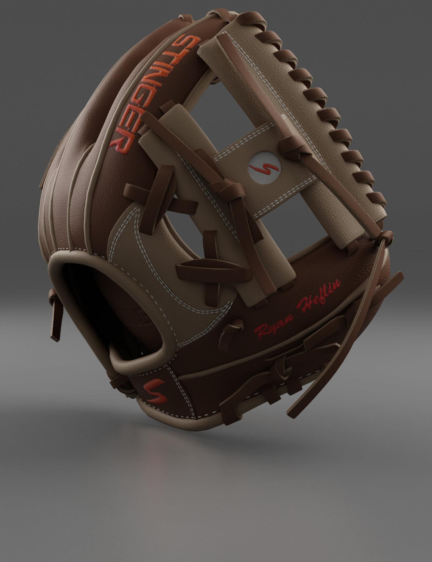 Baseball Glove Brown
