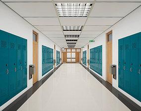 School Hallway UE4 3D