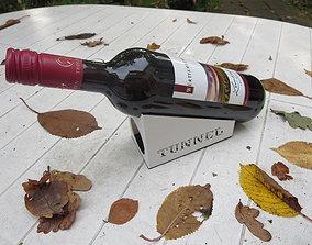 wine bottle houlder 3D printable model