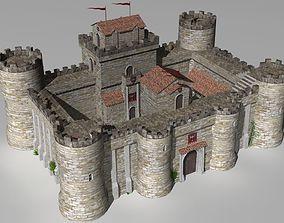 castle keep 3D