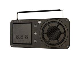 vintage 3D Radio