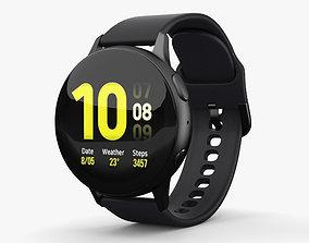 3D model Samsung Galaxy Watch Active 2 44mm Aluminium Aqua