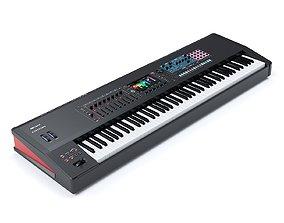 Music workstation Roland Fantom 8 3D model