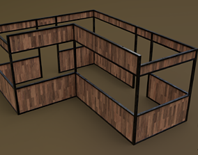 Stall stand 11 R 3D model