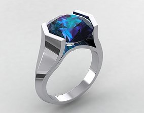 Round 12 Ring 3D print model