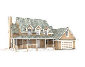 3D model Cottage 89