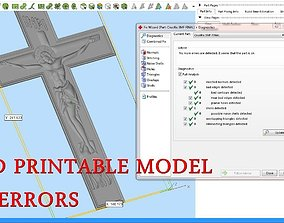 Crucifix for CNC 3D Router orthodox