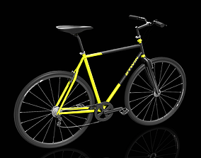 Bike Bicycle Btwin 3D model