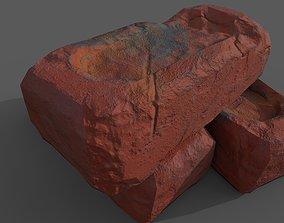 3D asset old bricks
