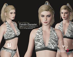 Imogen - Female Character Base Mesh Version 1 3D asset