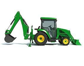 3D model Agriculture Truck