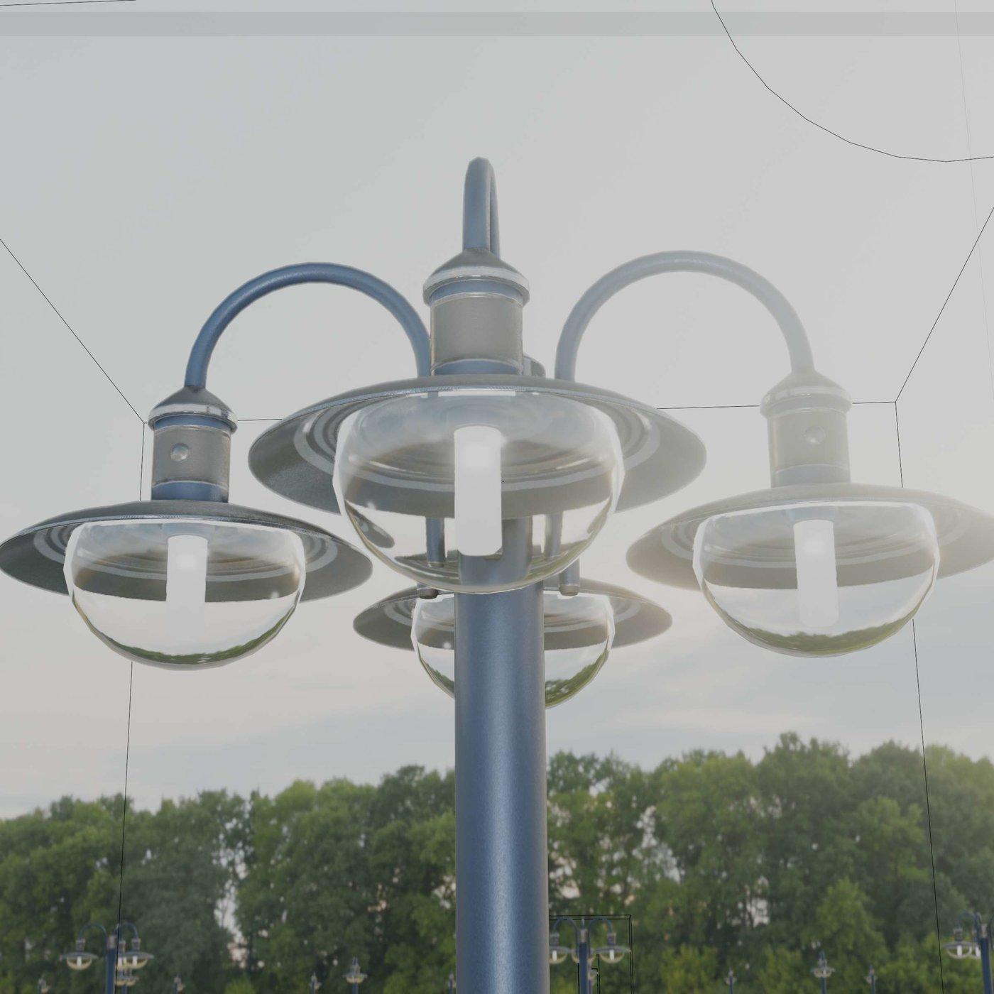 Street Light 7 Blue Version