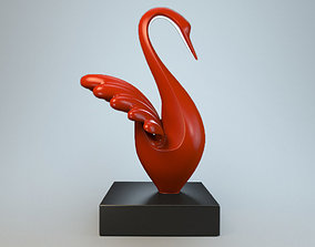3D printable model Sculpture Silver Swan P