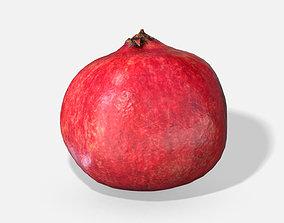 3D model Fruit Pomegranate - Photoscanned PBR
