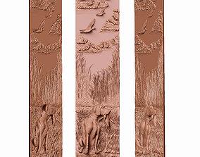 3D print model panel hunting for cnc