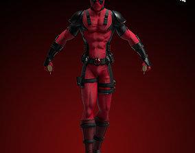 3D printable model Fanart Deadpool - Statue