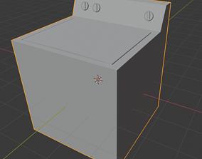 wash Washer 3D model