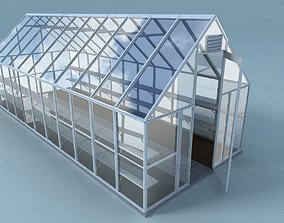 3D model Greenhouse warm