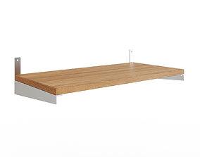 KUNGSFORS Shelf ash veneer ash 3D asset
