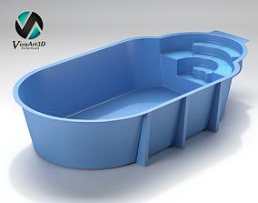 3D Swiming pool 12