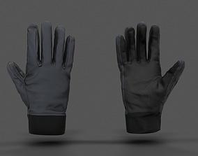 VR Hands - Winter Gloves 3D asset rigged