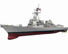 USS SPRUANCE-ARLEIGH BURKE 3D model