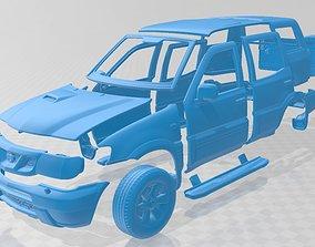 Nissan Terrano II R20 5 Door 2006 Printable Body