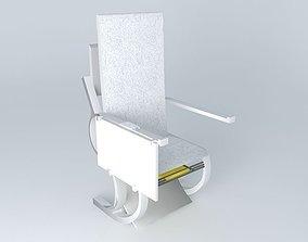 3D GoldenJet Brand Seat