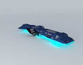 SC Tron Cruiser class 3D
