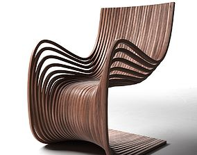 3D Pipo Chair plywood