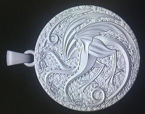 3D print model targaryen pendant