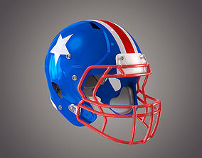 american Football Helmet 3D model