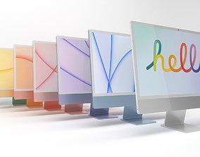 Apple iMac 3D asset VR / AR ready