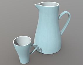 3D asset Jug and Mug