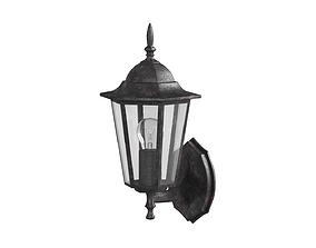 Antique Outdoor Lamp 3D asset realtime
