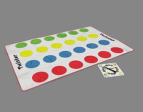 Twister game 3D model
