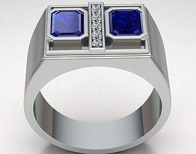 ringbandman jewelry 3D printable model Ring Man