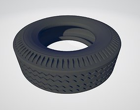 Printable 14th Scale hollow RC Tamiya Truck front tyre