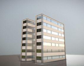 City Building Design N-1 3D asset